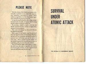 Survival Under Atomic Attack - Original release of Survival Under Atomic Attack