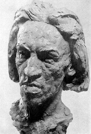 August Suter (sculptor) - Image: Suter Cendrars