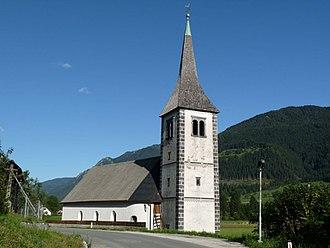 Mojstrana - Image: Sv. Klemen v Mojstrani