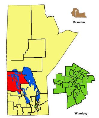 Swan River (electoral district) - Image: Swan River ED2011