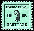 Switzerland Basel 1942 Tourism revenue 10Rp - 1.jpg