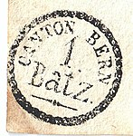 Switzerland Bern 1828-05-28 1 Batz hand stamp A1-3a.jpg