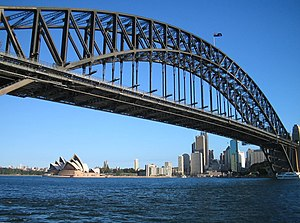 Dorman Long - Image: Sydney Harbour Bridgeand Opera House IB
