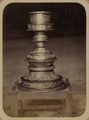 Syr-Darya Oblast. City of Turkestan. Mosque of Saint Sultan Akhmed Iassavi. Candlestick Donated by Emir Timur Kuragan WDL3877.png