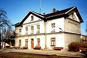 Szczucin-near-Tarnow--Poland--Railway-station--1996-04-07.jpg