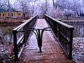 Szentes 2012-12-22, Eszperantó gyaloghíd. - panoramio.jpg