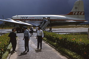 Avianca El Salvador - One of TACA Airlines DC-4