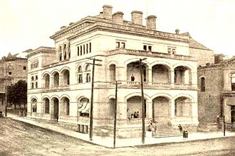 O. Henry Hall - The United States Court House and Post Office in Austin Texas in 1901.