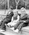 Tableau, kids, smile Fortepan 7304.jpg