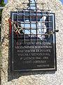 Tablica nowego pomnika żołnierzy wyklętych w Toruniu.jpg