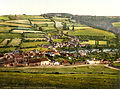 Taddiport from Castle Hill, Torrington, Devon, England, ca. 1895.jpg