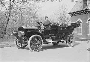 Presidential state car (United States) - Taft's 1911 White steamer