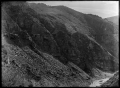 Taieri Gorge, near Dunedin, Otago, with railway line coming through an area known as The Notches ATLIB 311895.png