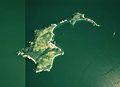 Takega-shima Uwajima city Aerial photograph.1975.jpg