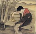 TakehisaYumeji-1922-Matedo Kurasedo Konu Hito Wo.png