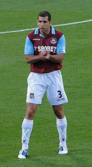 Tal Ben Haim - Ben Haim at West Ham United, August 2010