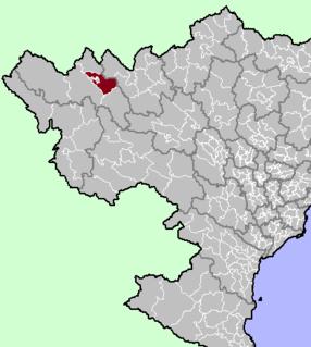 Tam Đường District District in Northwest, Vietnam