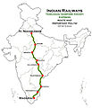 Tamil Nadu Samparkkranti Express (NZM - MDU) Route map.jpg