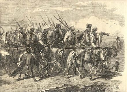 Tatya Tope's Soldiery - Indian Rebellion of 1857