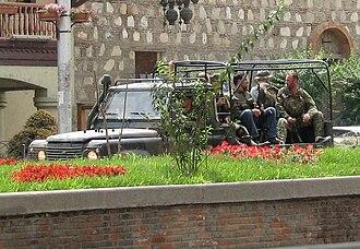 Occupation of Gori - Image: Tbilisi 2008 08 14