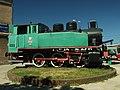 Tczew, nádraží, historická lokomotiva II.JPG
