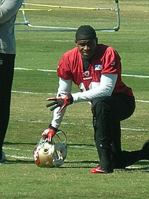Ted Ginn Jr. - Ginn during 49ers 2010 Training Camp.