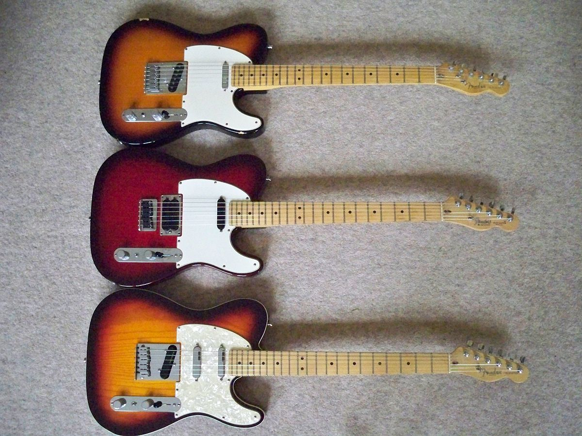 Fender Telecaster Plus - Wikipedia