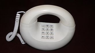 Telephone - Modern telephones use push buttons