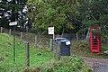 Telephone box by lane to Brae of Essie. - geograph.org.uk - 266985.jpg