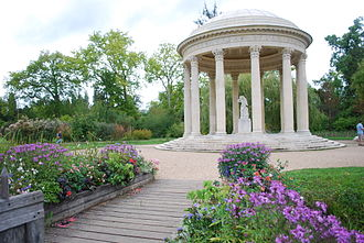 Richard Mique - Temple of Love Versailles in Summer