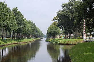 Barnflair - Image: Ter Apelkanaal Haren Rutenbrock Kanal kruising