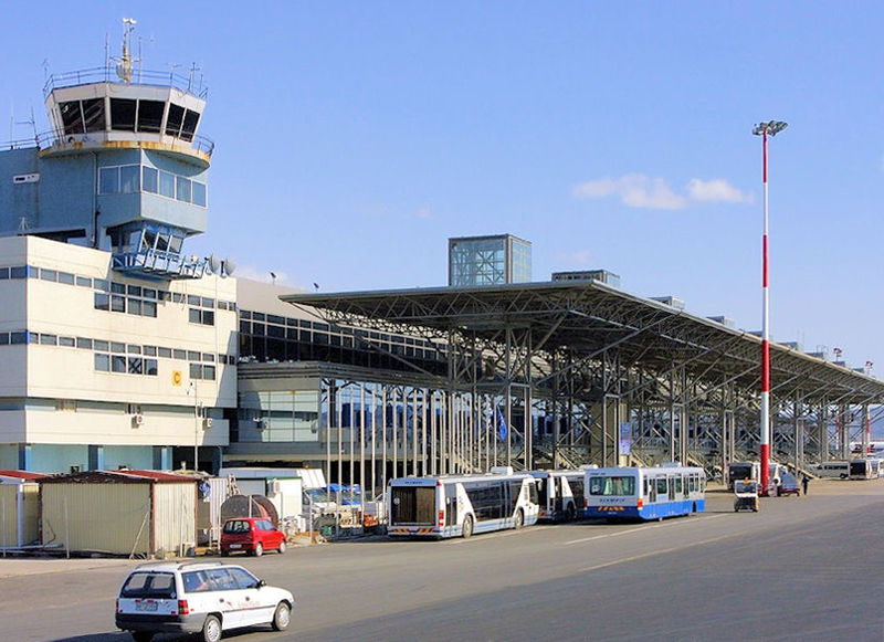 """Κρατικός Αερολιμένας Θεσσαλονίκης «Μακεδονία»Thessaloniki International Airport """"Macedonia""""port lotniczy Saloniki-Macedonia"""