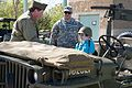 Texas Military Forces honors cancer fighter at honorary enlistment ceremony 150327-Z-FG822-001.jpg