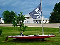 Thar Be Pirates, Lawn Art, Woosung, Illinois (7400249296).jpg