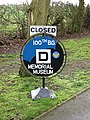 The 100th Bomb Group Memorial Museum (sign) - geograph.org.uk - 1779839.jpg