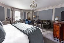 Bedroom at The Bentley London