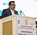 "The CEO, NITI Aayog, Shri Amitabh Kant addressing at the inauguration of a National Workshop on ""Water for All and Swachh Bharat"", in New Delhi on March 22, 2017.jpg"