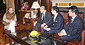 The Chief Director General, Japan External Trade Organisation (JETRO), Mr. Naoyoshi Noguchi meeting the Union Minister for Finance and Corporate Affairs, Shri Arun Jaitley, in New Delhi on December 09, 2016.jpg