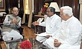 The Chief Minister of Karnataka, Shri Siddaramaiah meeting the Union Minister for Finance, Corporate Affairs and Information & Broadcasting, Shri Arun Jaitley, in New Delhi on June 10, 2015.jpg