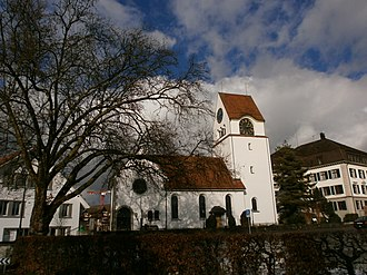 Fehraltorf - Image: The Church of Fehraltorf