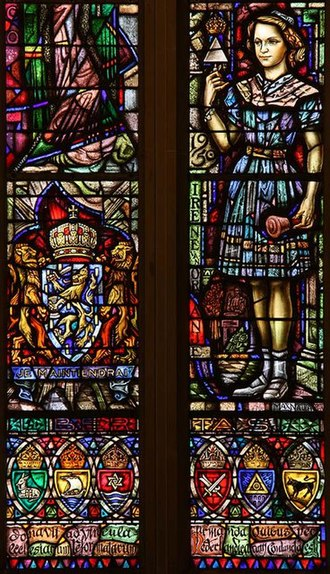 Princess Irene of the Netherlands - Princess Irene (window Dutch Church, Austin Friars in London)