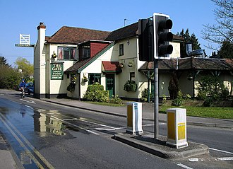 Arkley - Image: The Gate geograph.org.uk 384654