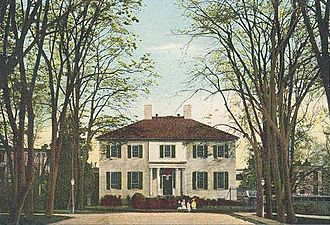 Alexander Parris - The Executive Mansion at Richmond, Virginia in c. 1905