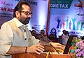 The Minister of State for Minority Affairs (Independent Charge) and Parliamentary Affairs, Shri Mukhtar Abbas Naqvi addressing at the 'GST awareness meeting', in Hyderabad on July 09, 2017 (1).jpg