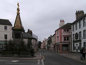 Wigton - Image: The Monument, Wigton geograph.org.uk 60406