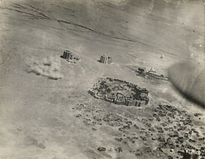 Dhulbahante - Aerial bombardment of Dervish forts in Taleh