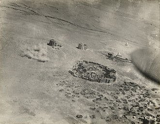 Haji Sudi - Aerial bombardment of Dervish forts in Taleh