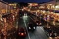 The Night View of Hoshigaoka Terrace 02, Hoshigaoka-moto-machi, Chikusa Ward Nagoya 2010.jpg