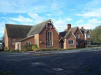 Cheswardine - Image: The Old School and School House, Cheswardine geograph.org.uk 628779