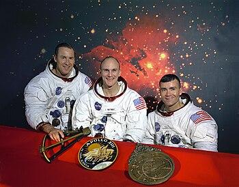 Mattingly (center) as part of the original pri...